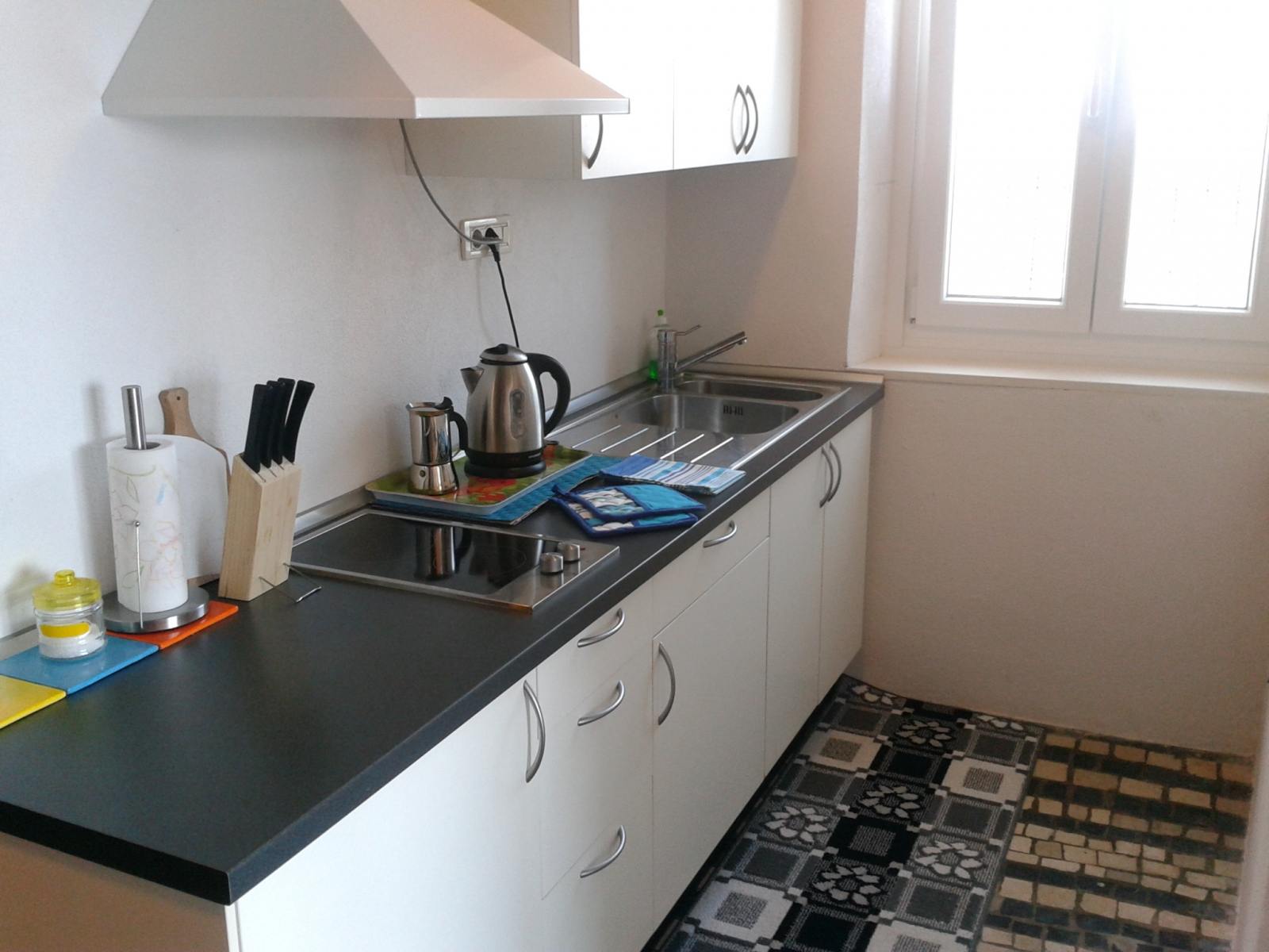 Kitchen apartment SPacal Piran