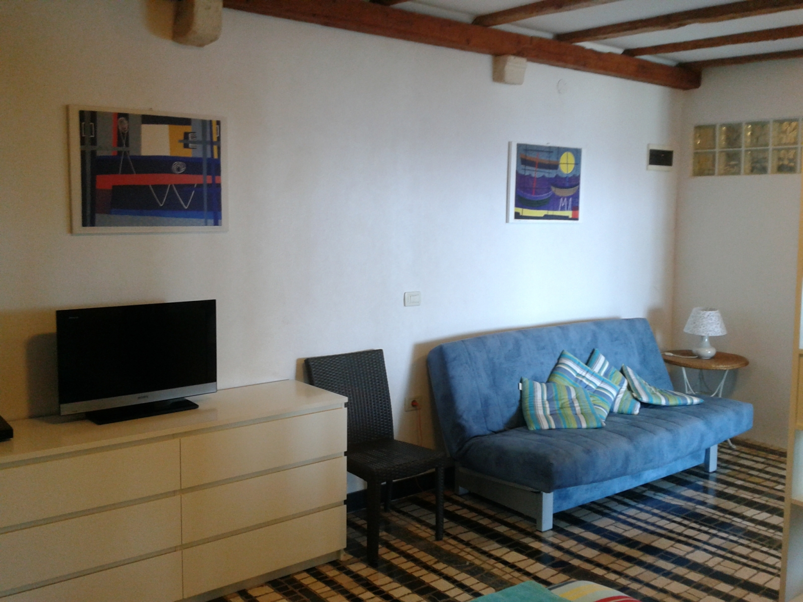 Sofa bed apartment Spacal Piran