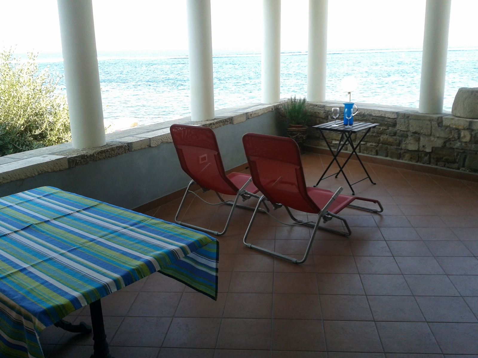 terrace Apartment Spacal Piran