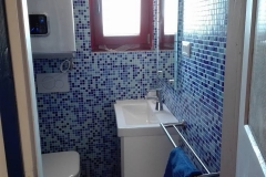 Terrace apartment spacal Piran bathroom