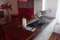 Terrace apartment spacal Piran  kitchen