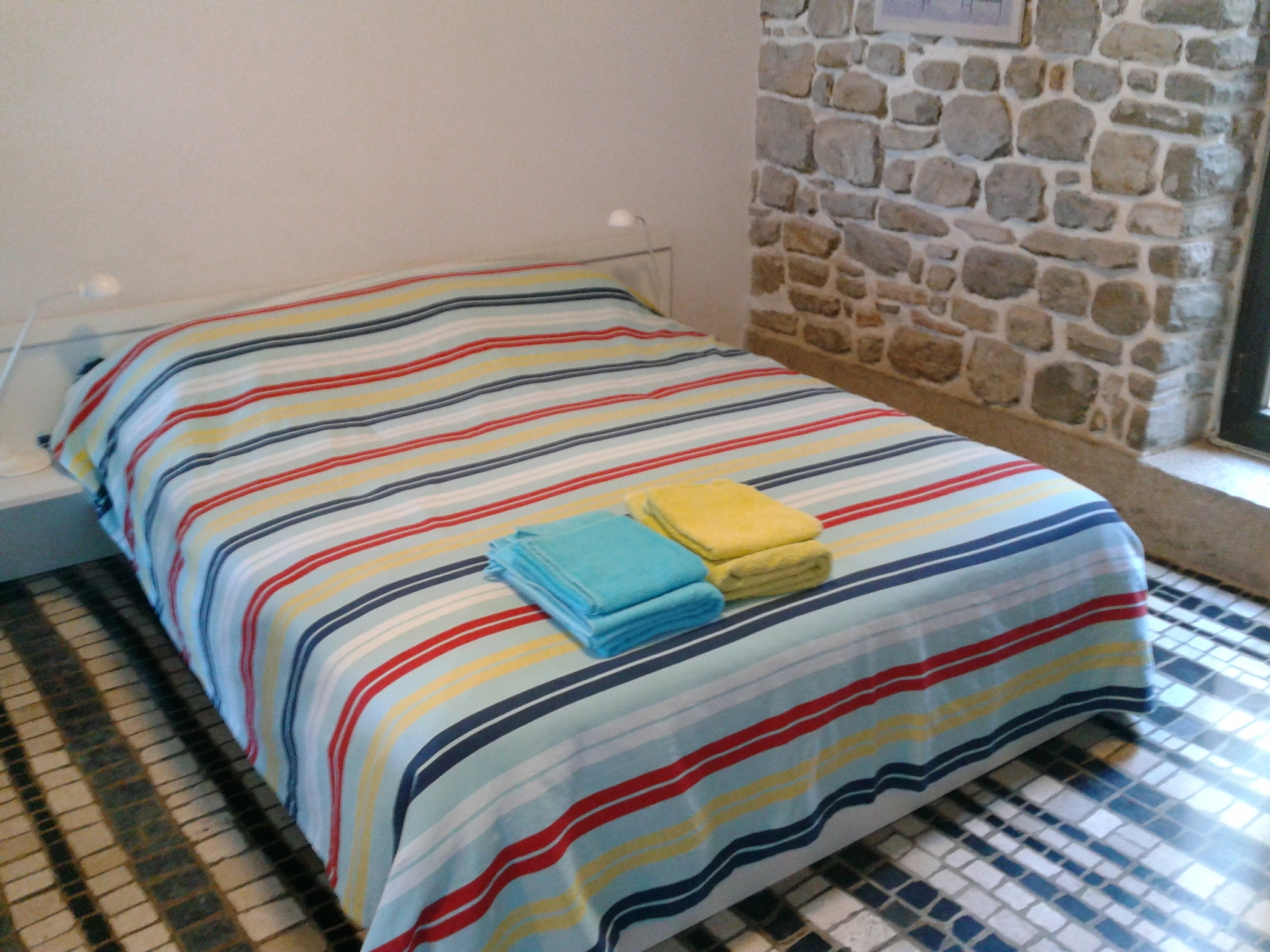 Double bed apartment Piran