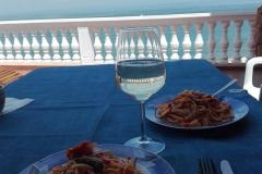 Terrace apartment spacal Piran - terrace table